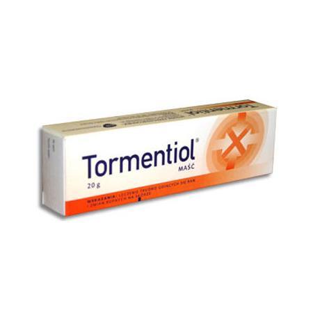 Maść Tormentiol tuba 20 mg marki GSK Glaxo Smith Kline - zdjęcie nr 1 - Bangla