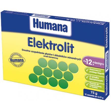 Elektrolit o smaku bananowym marki Humana - zdjęcie nr 1 - Bangla