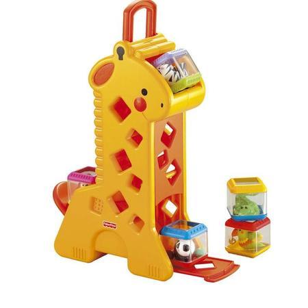 Żyrafa pełna klocków, B4253 marki Fisher-Price - zdjęcie nr 1 - Bangla