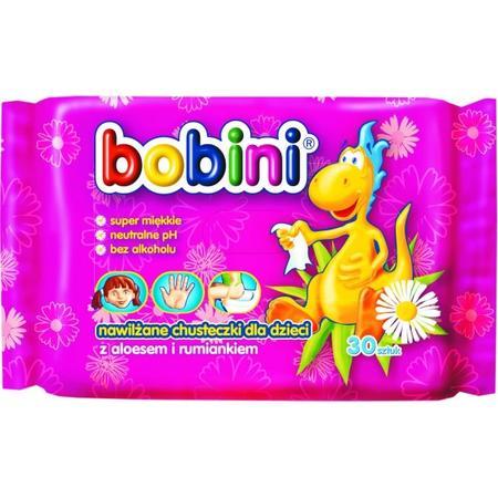 Chusteczki nawilżane z aloesem i rumiankiem marki Bobini - zdjęcie nr 1 - Bangla