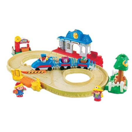 Little People Jeżdżący pociąg marki Fisher-Price - zdjęcie nr 1 - Bangla
