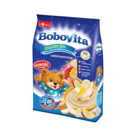 Kaszka Smaczny Sen Mleczno-wielozbożowa - różne smaki marki BoboVita - zdjęcie nr 1 - Bangla