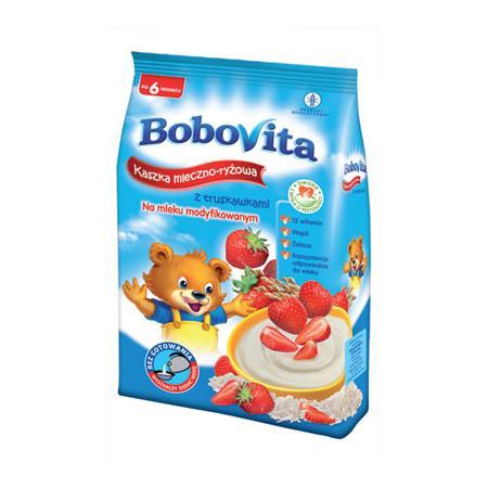 Kaszka mleczno-ryżowa - różne smaki marki BoboVita - zdjęcie nr 1 - Bangla