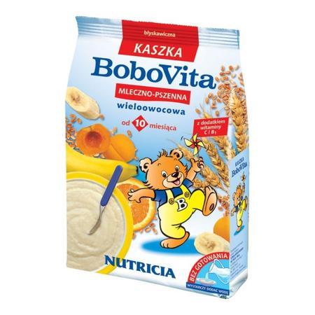 Kaszka mleczno-pszenna - różne smaki marki BoboVita - zdjęcie nr 1 - Bangla