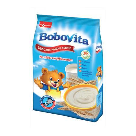 Mleczna kaszka manna marki BoboVita - zdjęcie nr 1 - Bangla