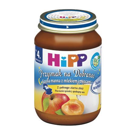 Przysmak na dobranoc - różne smaki marki HiPP - zdjęcie nr 1 - Bangla