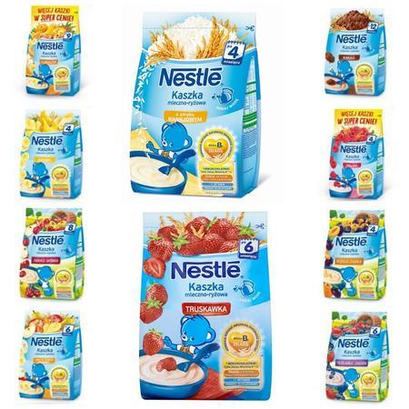 Kaszka mleczno-ryżowa - różne smaki marki Kaszki Nestlé - zdjęcie nr 1 - Bangla
