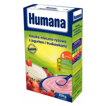 Kaszka mleczno-ryżowa - różne smaki marki Humana - zdjęcie nr 1 - Bangla
