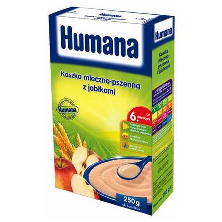Kaszka mleczno-pszenna z jabłkami marki Humana - zdjęcie nr 1 - Bangla