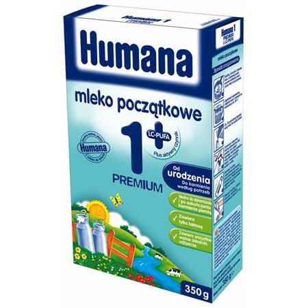 Mleko Humana 1 Plus Premium z LC-PUFA, 1 Premium z LC-PUFA, 1 Premium z LC-PUFA, płyn gotowy do spożycia marki Humana - zdjęcie nr 1 - Bangla
