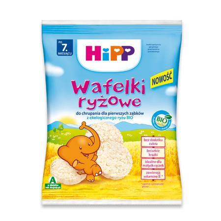Wafelki ryżowe marki HiPP - zdjęcie nr 1 - Bangla