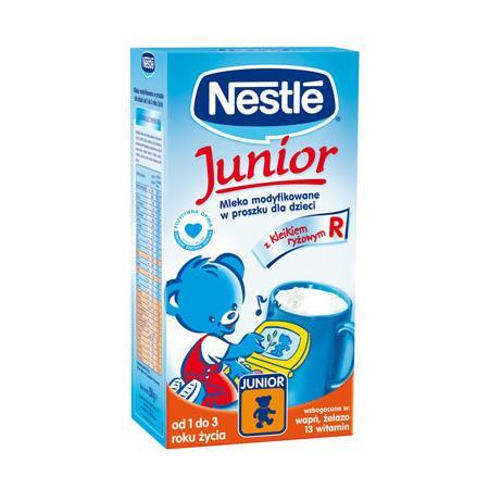 Junior R Mleko modyfikowane z kleikiem ryżowym marki Kaszki Nestlé - zdjęcie nr 1 - Bangla
