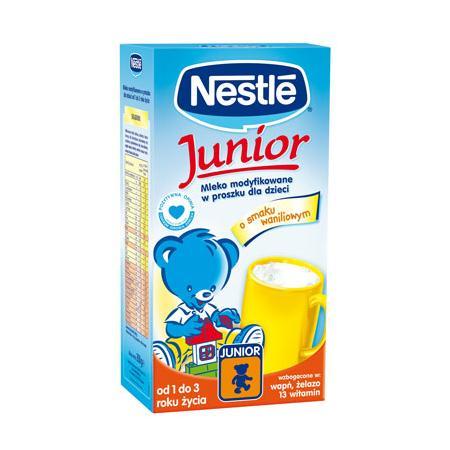 Mleko Junior Wanilia, Mleko Junior z Miodem marki Kaszki Nestlé - zdjęcie nr 1 - Bangla