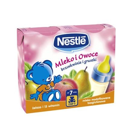 Mleko i Owoce Napój mleczny. Różne rodzaje. marki Kaszki Nestlé - zdjęcie nr 1 - Bangla