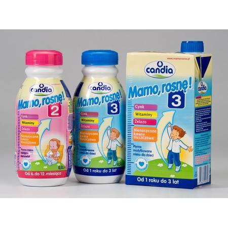 Mamo, rosnę! 2, Mamo, rosnę! 3 Mleko modyfikowane dla dzieci 1-3 lat marki Candia - zdjęcie nr 1 - Bangla