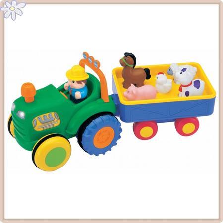 Traktor ze zwierzętami marki Interkobo - zdjęcie nr 1 - Bangla
