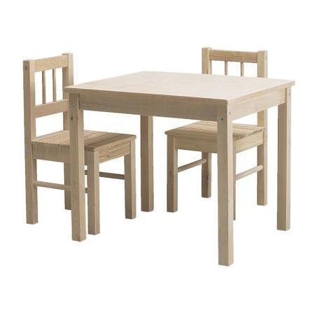 Stolik i 2 krzesełka SVALA marki IKEA - zdjęcie nr 1 - Bangla