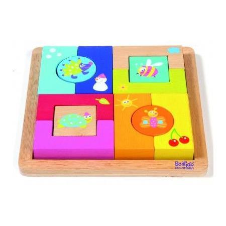 Puzzle edukacyjne Pory Roku marki Boikido - zdjęcie nr 1 - Bangla