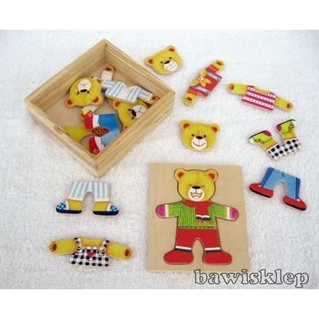 Drewniane Puzzle dla najmłodszych, różne rodzaje. marki Top Bright - zdjęcie nr 1 - Bangla