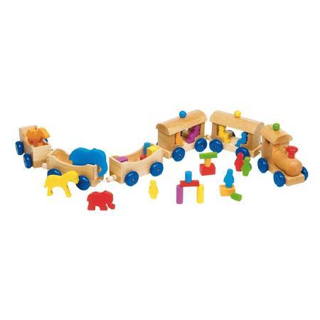 Drewniany pociąg Berlin marki Toys Pure - zdjęcie nr 1 - Bangla