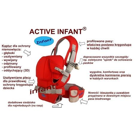 Active Infant nosidełko marki Infant - zdjęcie nr 1 - Bangla