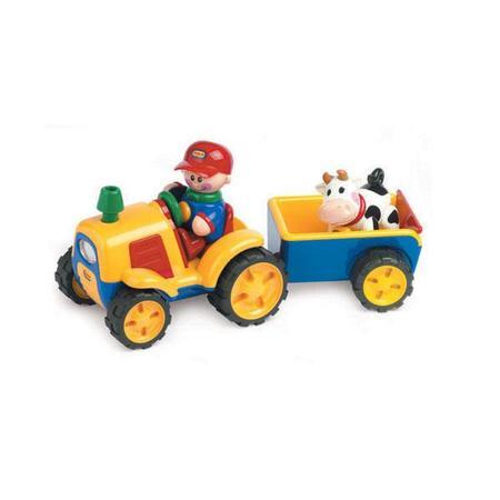 Traktor z przyczepą marki Tolo - zdjęcie nr 1 - Bangla