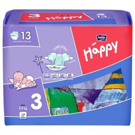 Pieluszki Happy 2, 3, 4, 4+, 5 i 6 marki Bella Baby - zdjęcie nr 1 - Bangla