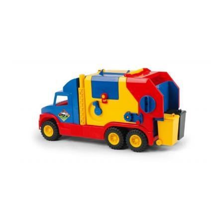 Super truck śmieciarka, śmieciarka krótka, 36530 marki Wader - zdjęcie nr 1 - Bangla