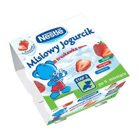 Misiowy jogurcik. Deserki, różne rodzaje. marki Kaszki Nestlé - zdjęcie nr 1 - Bangla