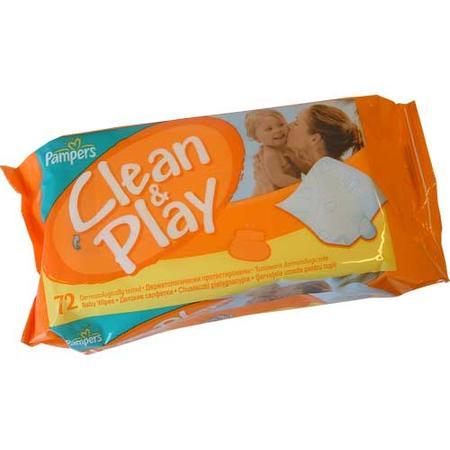 Chusteczki Nawilżane Clean & Play marki Pampers - zdjęcie nr 1 - Bangla