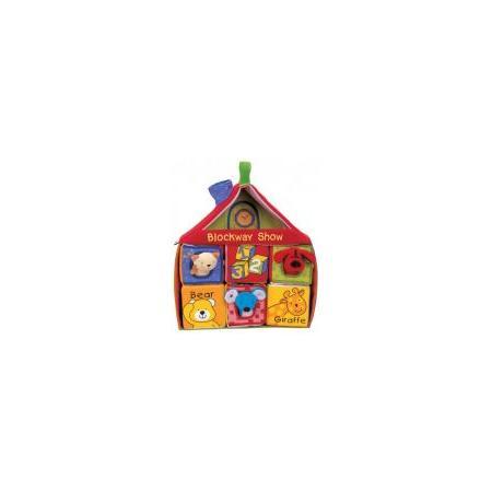 Domek z klocków marki K's Kids - zdjęcie nr 1 - Bangla