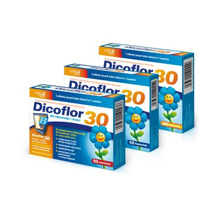 Dicoflor 30 kapsułki lub saszetki marki Vitis Pharma - zdjęcie nr 1 - Bangla