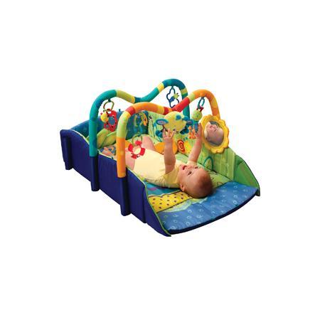 Mata edukacyjna, plac zabaw niebieski lub różowy, 8746 marki Bright Starts - zdjęcie nr 1 - Bangla