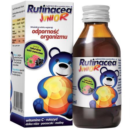 Rutinacea Junior, suplement diety - syrop marki Aflofarm - zdjęcie nr 1 - Bangla