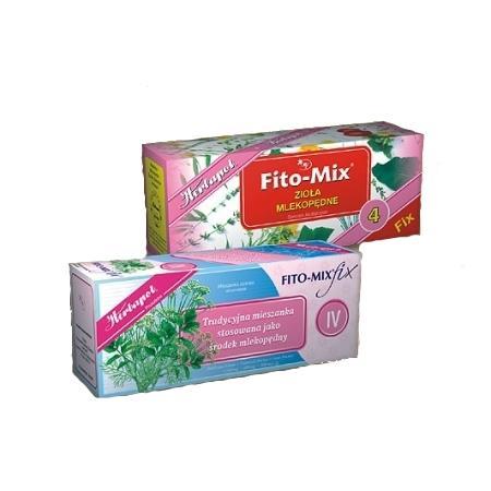 Zioła mlekopędne Fito-mix 4 marki Herbapol Pruszków - zdjęcie nr 1 - Bangla