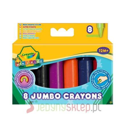 Mini Kids kredki świecowe Jumbo 1+ marki Crayola - zdjęcie nr 1 - Bangla