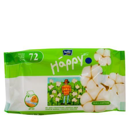 Chusteczki nasączone Bella Baby Happy Silk & Cotton marki Bella Baby - zdjęcie nr 1 - Bangla