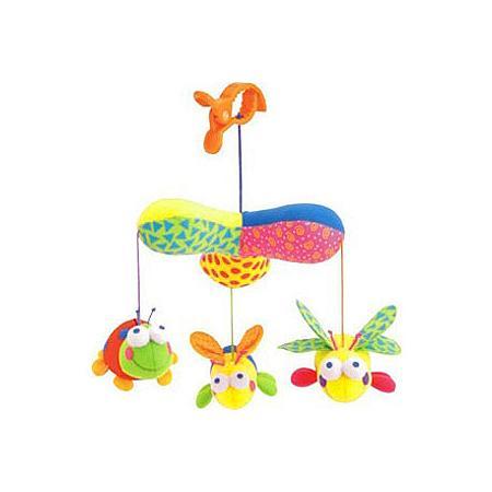 Zabawki do zawieszania z grzechotkami. Zawieszki - różne wzory marki Świat Pluszowych Zabawek - zdjęcie nr 1 - Bangla