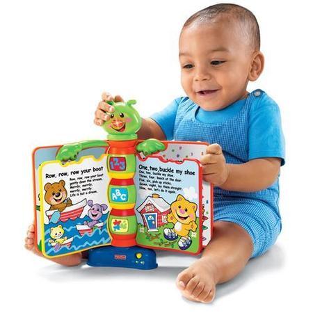 Laugh & Learn. Książeczka Rymowanka, L4886 marki Fisher-Price - zdjęcie nr 1 - Bangla