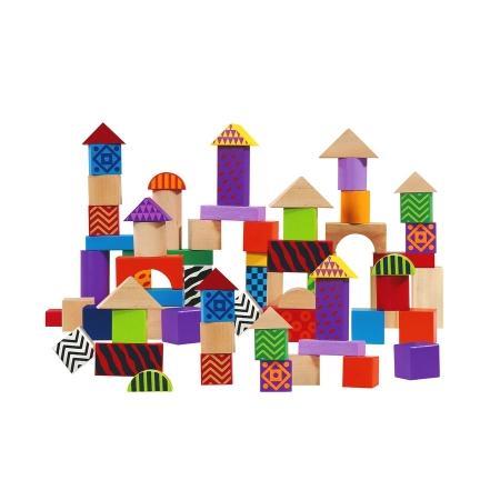Drewniane klocki w pudełku, 2860, 2226, 2864, 2842, 2868, 2228 marki Eichhorn - zdjęcie nr 1 - Bangla