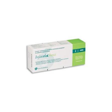 Infanrix Hexa - szczepionka skojarzona (DTP+IPV+Hib+WZW B) marki GSK Glaxo Smith Kline - zdjęcie nr 1 - Bangla