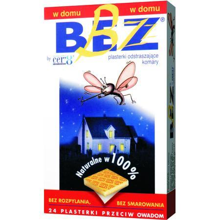 Plasterki przeciw komarom Bez Bzz. Do stosowania w domu marki Larus Pharma - zdjęcie nr 1 - Bangla