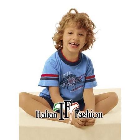 Piżamka z długimi lub krótkimi rękawkami i krótkimi lub długimi spodenkami marki Italian Fashion - zdjęcie nr 1 - Bangla