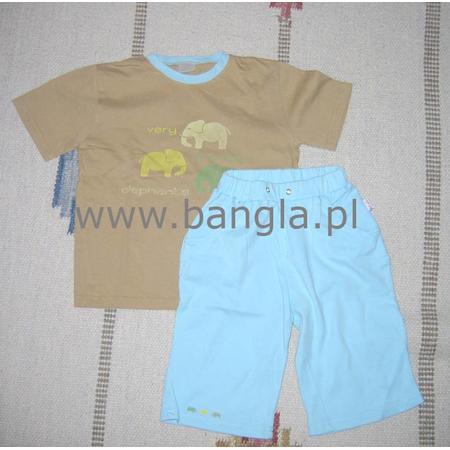 Piżamka z długimi lub krótkimi rękawkami Kolorino marki Drewex - zdjęcie nr 1 - Bangla