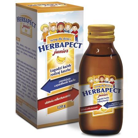 Herbapect Junior, syrop dla dzieci marki Aflofarm - zdjęcie nr 1 - Bangla