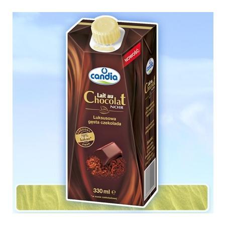 Candia Lait au Chocolat Noir, Gęsta czekolada do picia marki Candia - zdjęcie nr 1 - Bangla