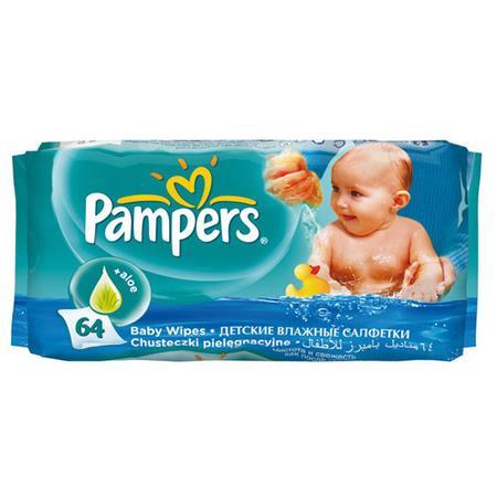 Chusteczki nawilżane Baby Fresh z aloesem marki Pampers - zdjęcie nr 1 - Bangla
