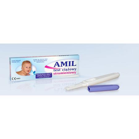 Test ciążowy strumieniowy marki Amil - zdjęcie nr 1 - Bangla