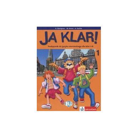 JA KLAR 1, 2, 3; Podręcznik do nauki jęz. niemieckiego marki Lektorlett - zdjęcie nr 1 - Bangla