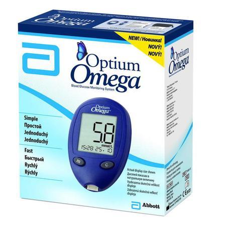 Optimum Omega Glukometr Marki Abbott